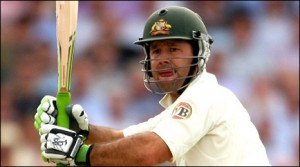 Ricky Ponting: batted well on a great day for Australian cricket