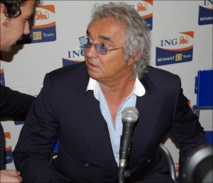 Flavio Briatore at the Renault Launch Party