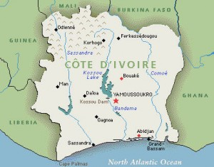 Ivory Coast - where alleged oil dumping took place
