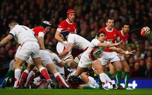 England take on Wales in RBS 6 Nations 2009