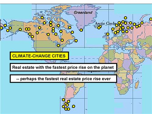 Climate Change Cities as described by Dr James Martin