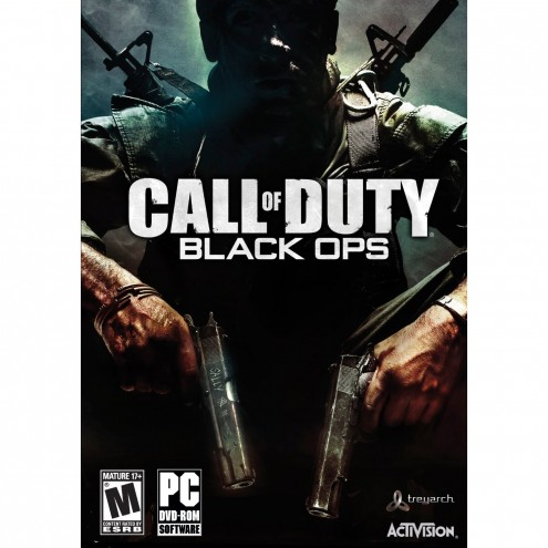 black ops cover pc. Call of Duty: Black Ops (PC DVD cover). Call of Duty: Black Ops is released