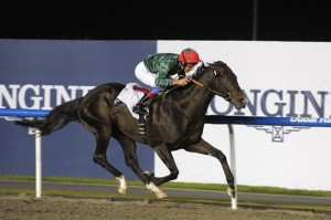 Mendip and Frankie Dettori win Group 3 Event at Meydan 2011