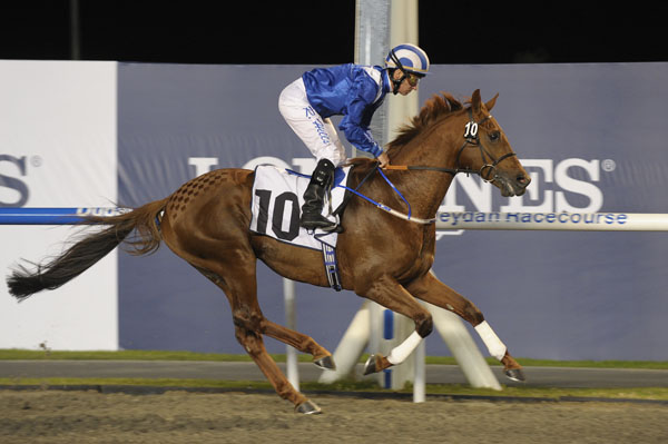 No Risk Al Maury Wins Opening 2011 Dubai International Racing Carnival Event at Meydan