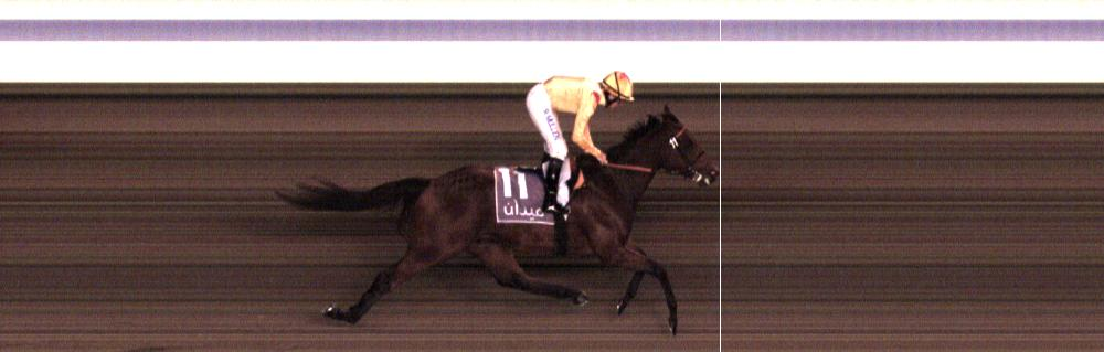 Radegund Abbey - 2.5 lengths clear winning at Meydan