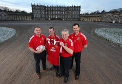 Graham Rowntree, Rob Howley, Warren Gatland and Andy Farrell - Lions Tour 2013 Coaching Staff