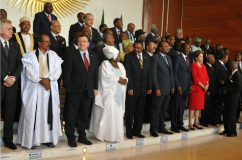 African Leaders at the 50th Anniversary of the African Union