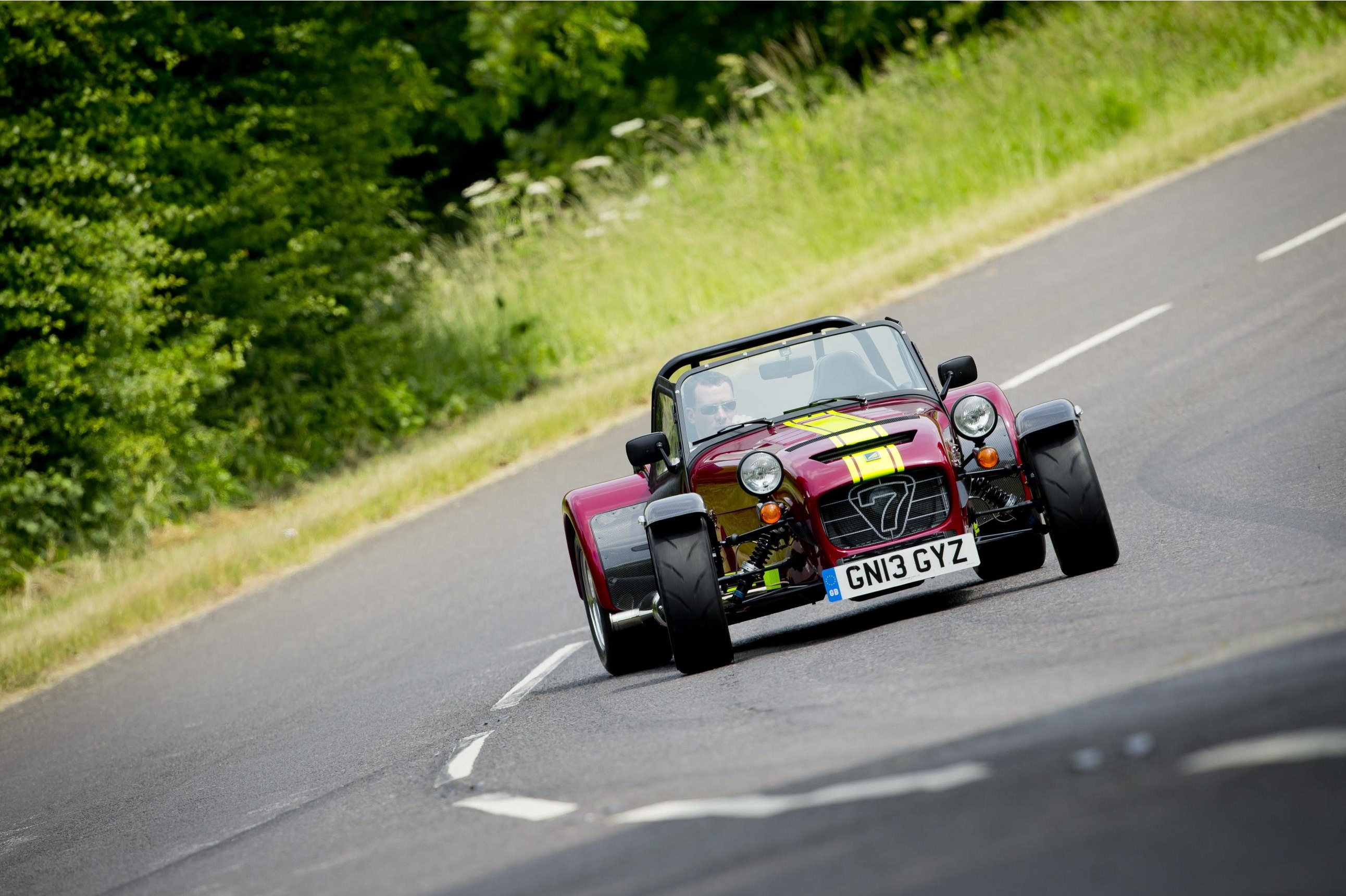 Caterham Seven 620R on the road