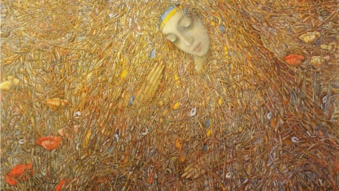 Painting by Ivan Marchuk, whose exhibition opens on 22nd August in Kiev