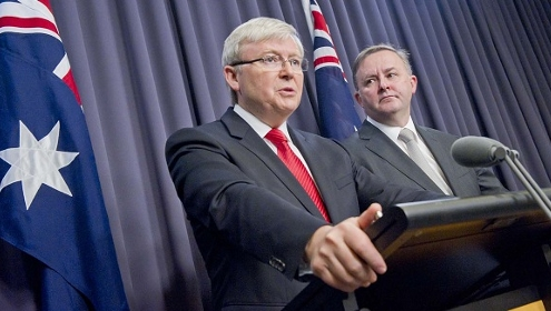 Kevin Rudd makes election announcement, 4th August 2013