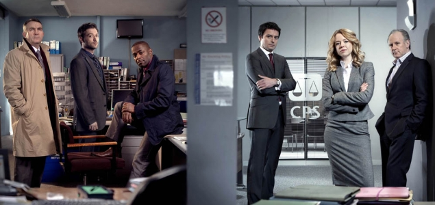 The cast of series seven of Law & Order: UK