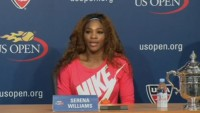 Serena Williams - after winning US Open 2013