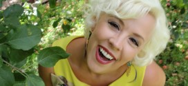 Emily Ellyn in the Garden