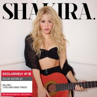 Shakira's new album cover for the deluxe edition.