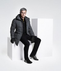 José Mourinho sports the Fall/Winter 2014 line from Porsche Design Sport by adidas