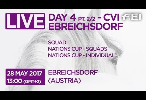 LIVE Vaulting – CVI Ebreichsdorf – Day 4 Part 2/2