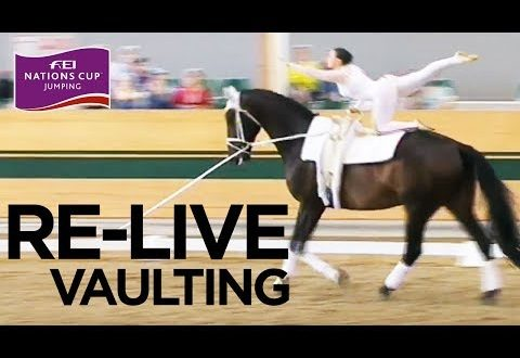 RE-LIVE Vaulting – CVI Ebreichsdorf – Day 2 Part 2/2