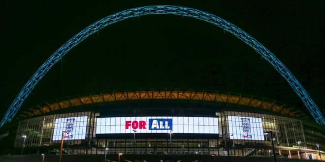 WEMBLEY LIGHTS UP FOR CLUBS ACROSS THE WORLD