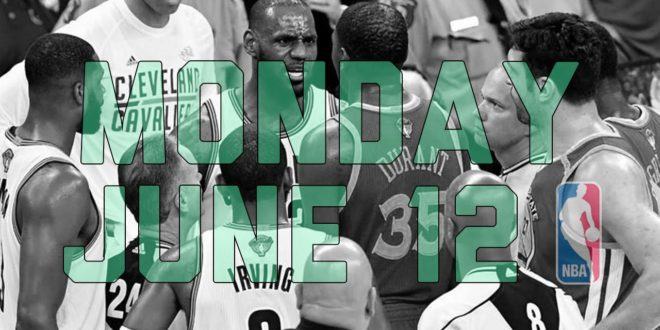 NBA Daily Show: June 12 – The Starters