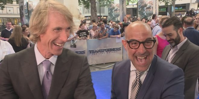Transformers: Stanley Tucci talks his secretive new role