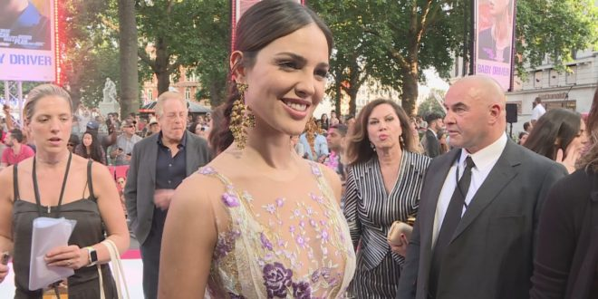 Baby Driver: Eiza González loves Shaun of the Dead