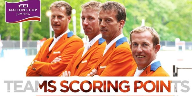 Teams Scoring Points | FEI Nations Cup™ – Rotterdam