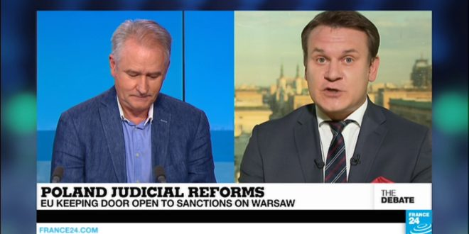 Are Poland's judicial reforms anti-democratic? Disagreement on The Debate