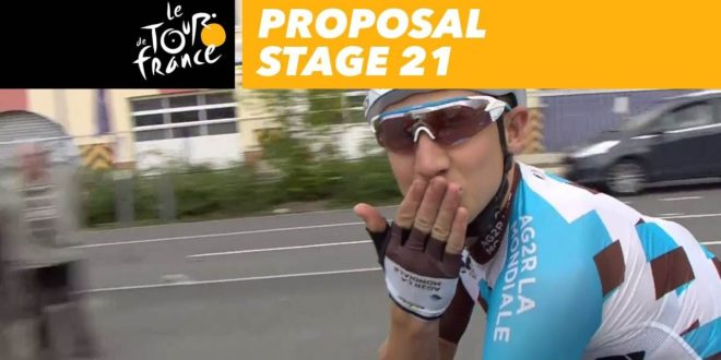 Do you want to marry me? – Stage 21 – Tour de France 2017