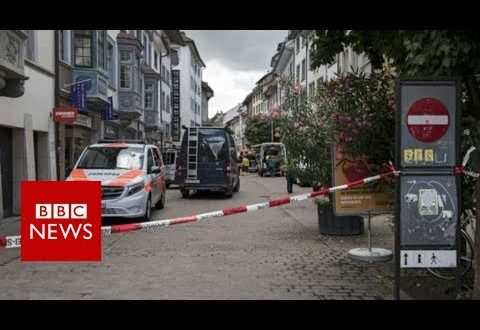 Switzerland: Five injured in Schaffhausen attack, say police – BBC News