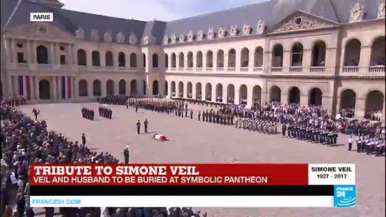 REPLAY - Watch the Tribute to Simone Veil, minister who ...