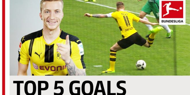 Marco Reus – Top 5 Goals – 2016/17 Season