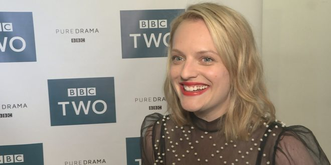 Elisabeth Moss on 'magical' Gwendoline Christie