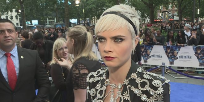 Valerian Premiere: Cara Delevingne never dreamt of this