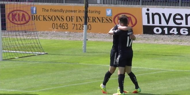 Bairns get the better of Caley Jags in Inverness