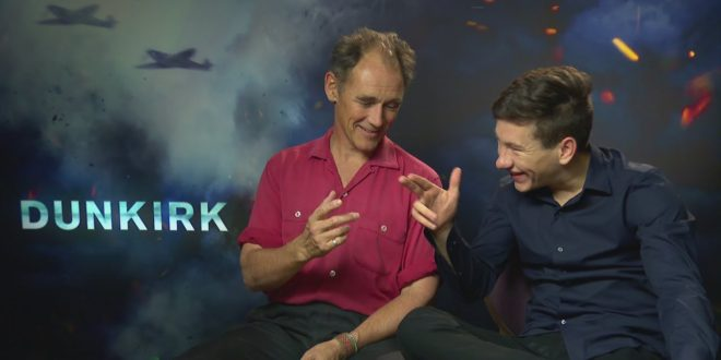 DUNKIRK: Mark Rylance & Barry Keoghan wanted to get wet