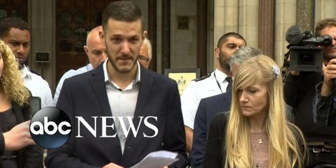 Charlie Gard's parents: 'We will let our son go and be with the angels'