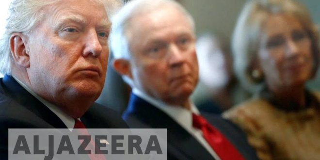 US: Trump attacks attorney general and calls him 'weak'