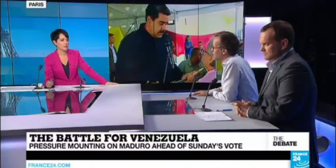 THE DEBATE – The Battle for Venezuela: Pressure mounting on Maduro ahead of Sunday's vote