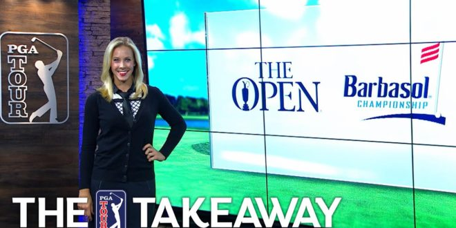 JT's fashion game, Koepka's pot bunker mastery & Spieth co-leads