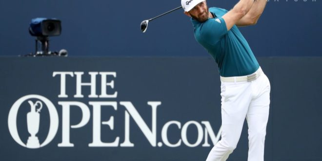 Grace's Major 62, Spieth leads & DJ rises