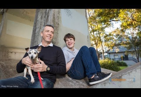 Australian Story: Sydney man James Best's African experiment to help his autistic son