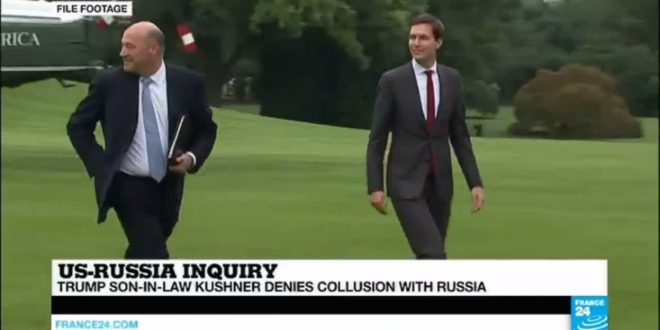 """US – Trump's Son-in-Law Jared Kushner faces grilling, says """"he did not collude"""" with Russia"""