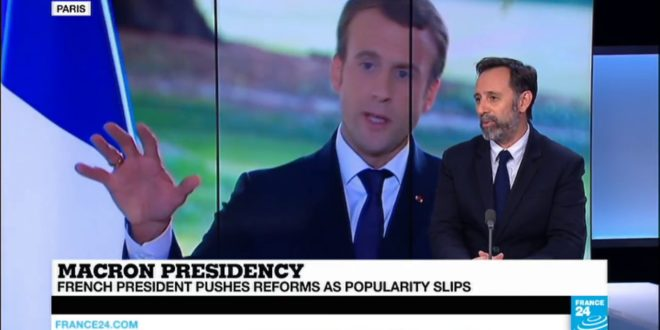 Macron presidency: French president pushes reforms as popularity slips
