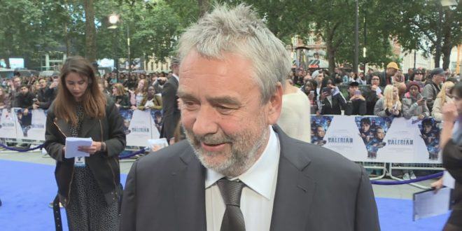 Valerian Premiere: Luc Besson says Cara shouldn't model