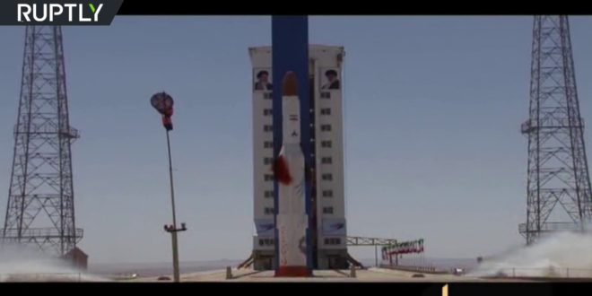 Iran 'successfully tests' Simorgh space rocket