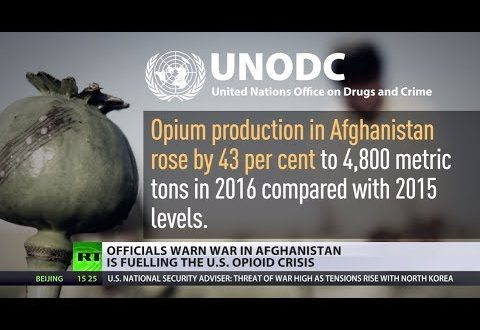 War Addiction: Afghans' opioid production boosted after US invasion