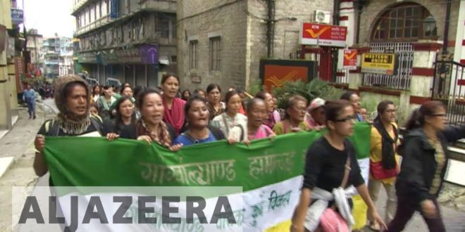 Gurkha protesters demand new state in India