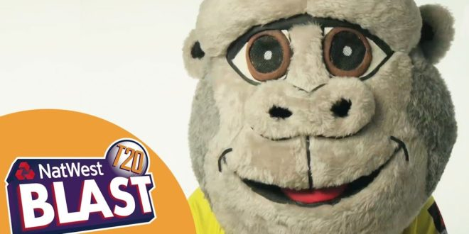 The Story Behind The Mascots – Untamed Entertainment: NatWest T20 Blast 2017