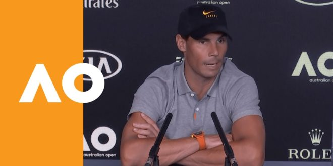 """Rafael Nadal: """"A great victory against a great opponent!"""" 
