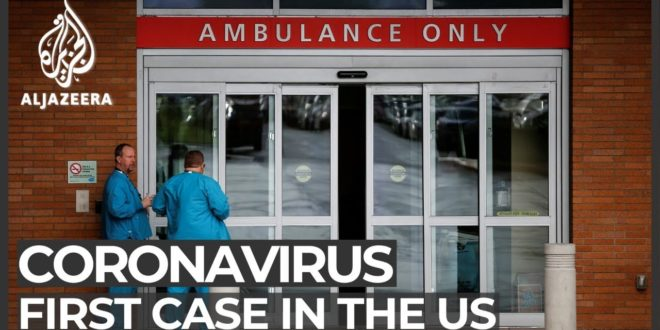Officials confirm first US case of coronavirus